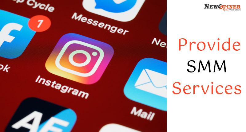 Provide SMM services