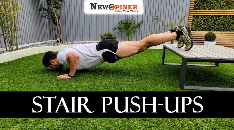 Stair Push-ups