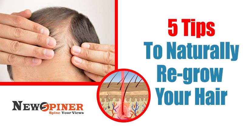 naturally Re-grow your hair