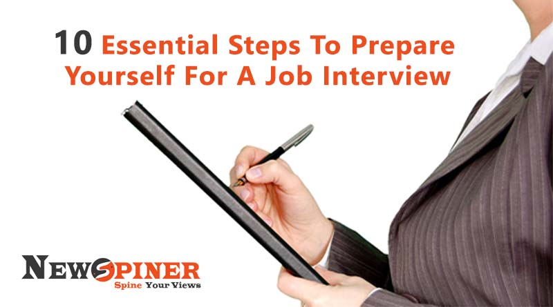 10 Essential Steps to Prepare Yourself for a Job Interview