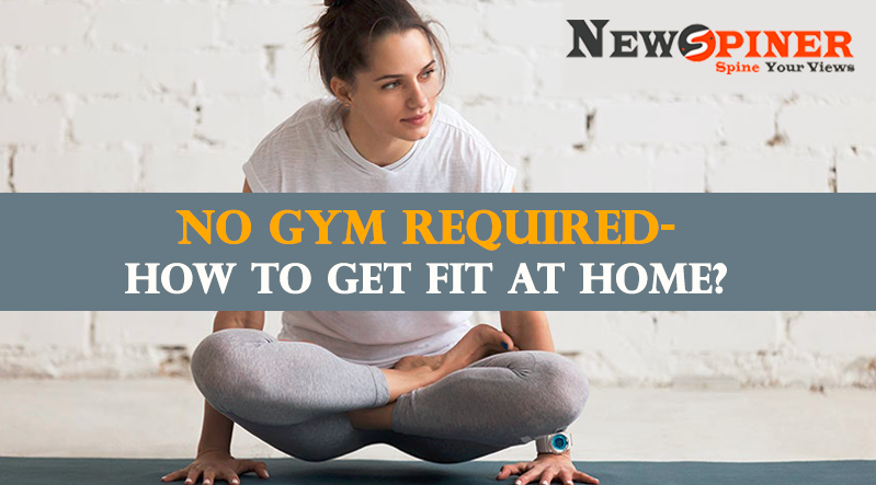 How to get fit at home without equipment