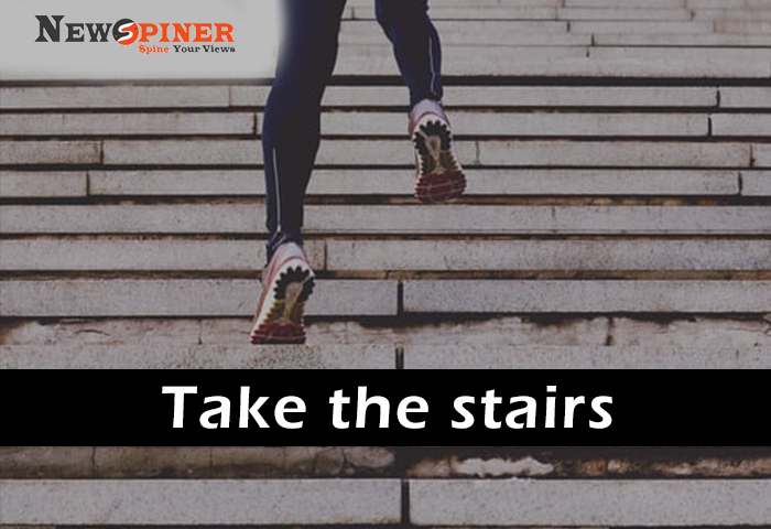 Take the Stairs - How to stay fit without equipment