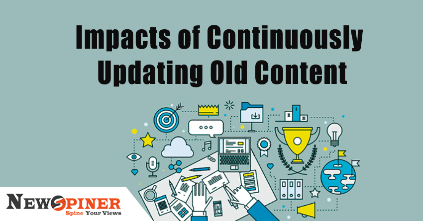 How do you update old content?