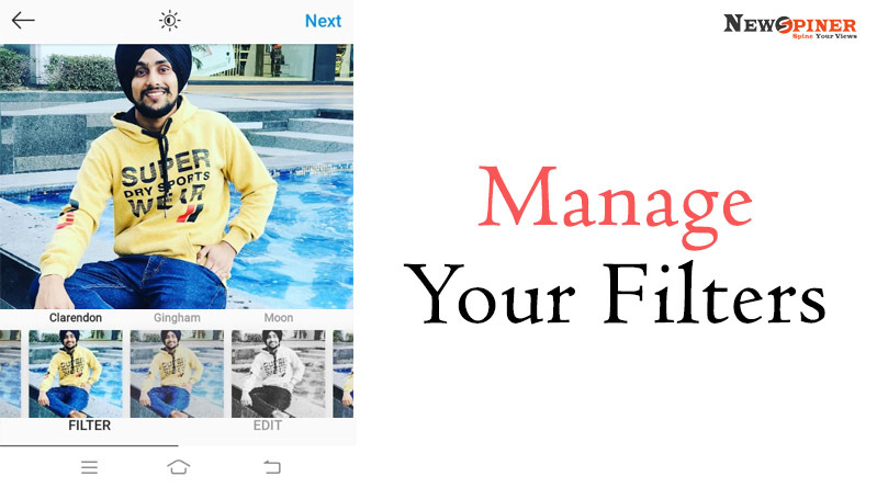 Manage your filters