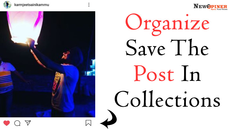 Organize save the post in collections