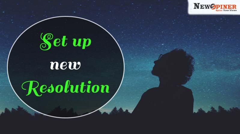 Set up new resolutions