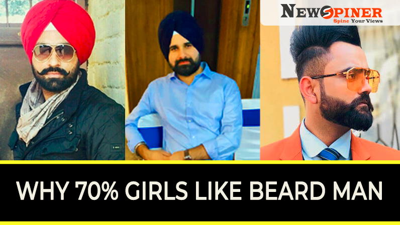 Why 70% of girls like men with beard?