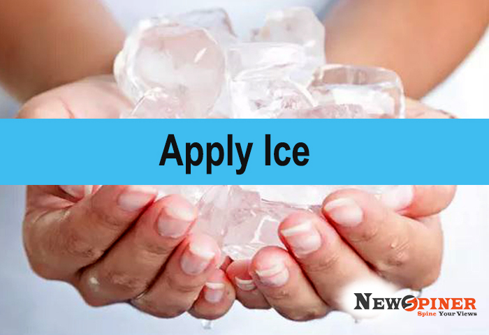 Apply Ice - Home remedies for tooth infection