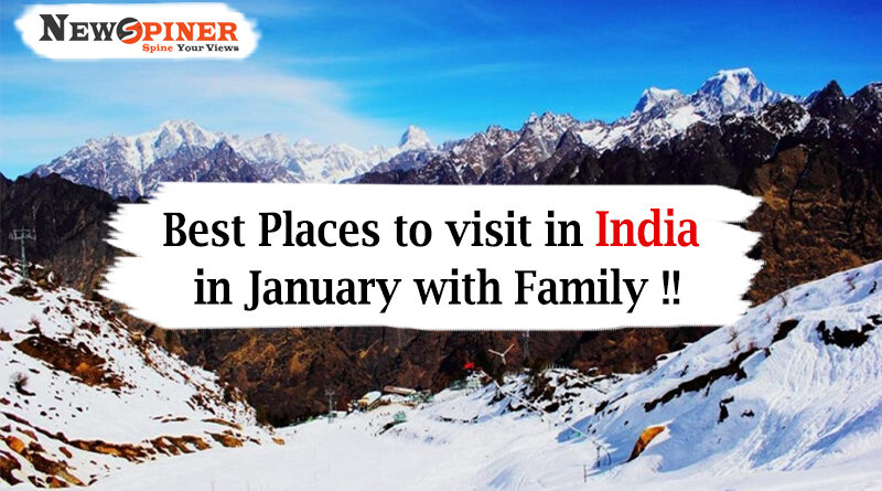 Best places to visit in india in january with family