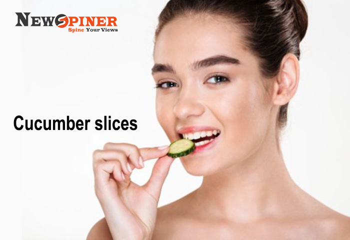 Cucumber Slices - Home remedies for tooth infection