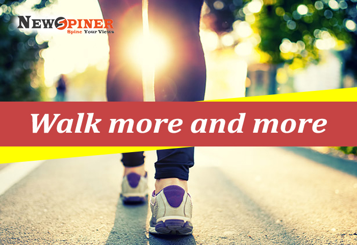 Walk more and more - How to stay fit without exercise