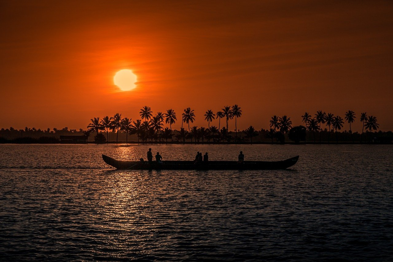 Kerala - Best places to visit in India in January with family