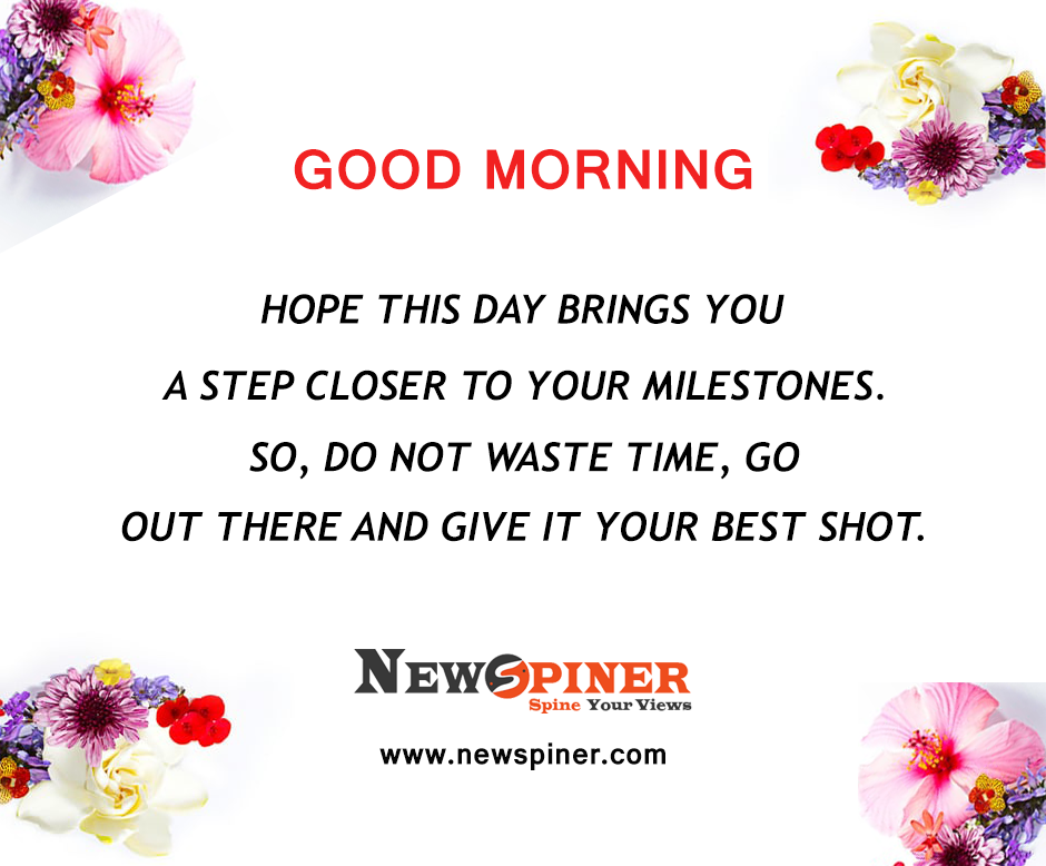 Beautiful And Lovely Good Morning Quotes With Images