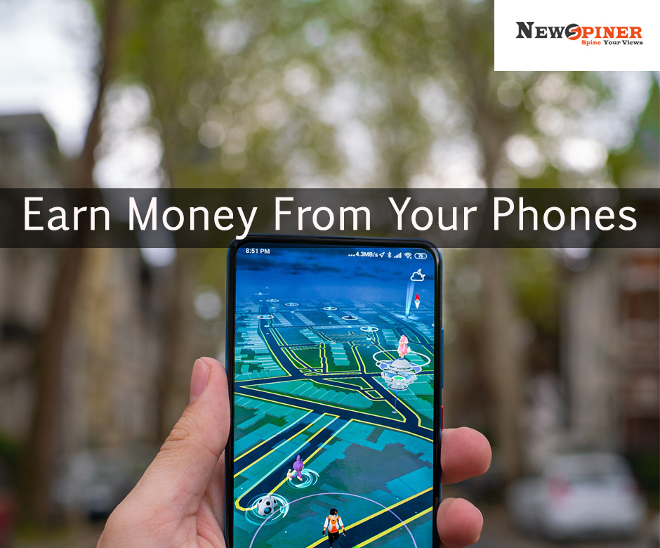 Earn money from your phones