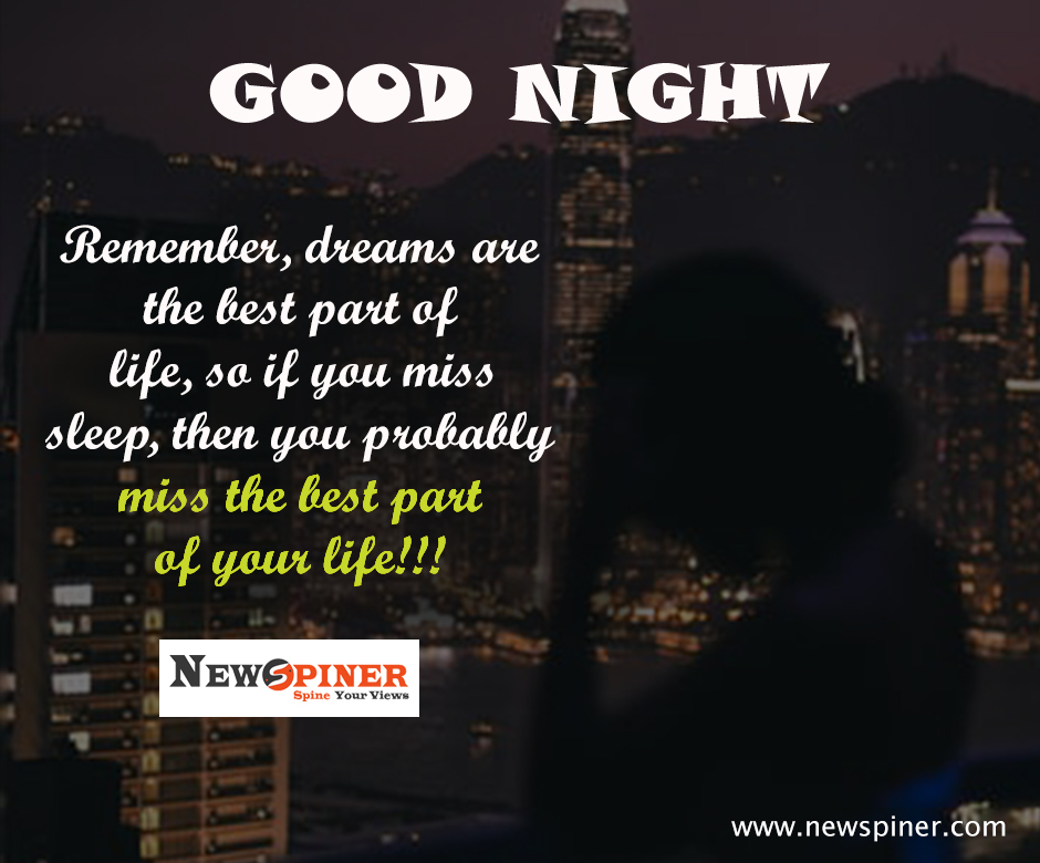 Life Positive Good Night Quotes