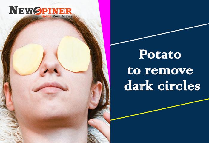 Potato to remove dark circles