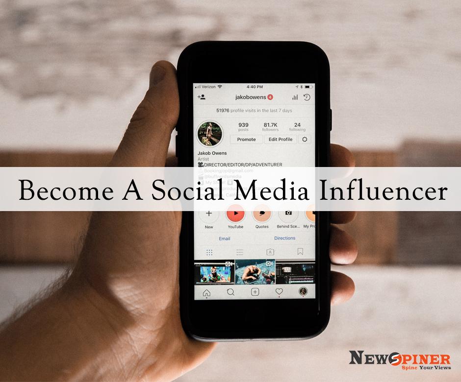 Become a Social Media Influencer