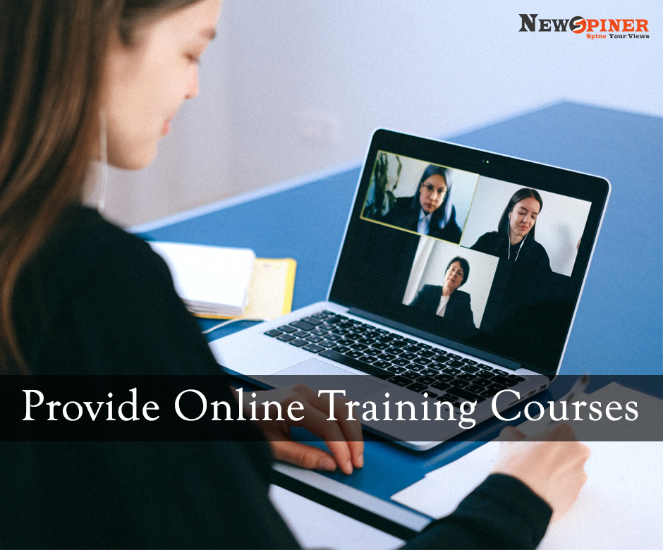 Provide online training courses - how to earn money online without investment for students