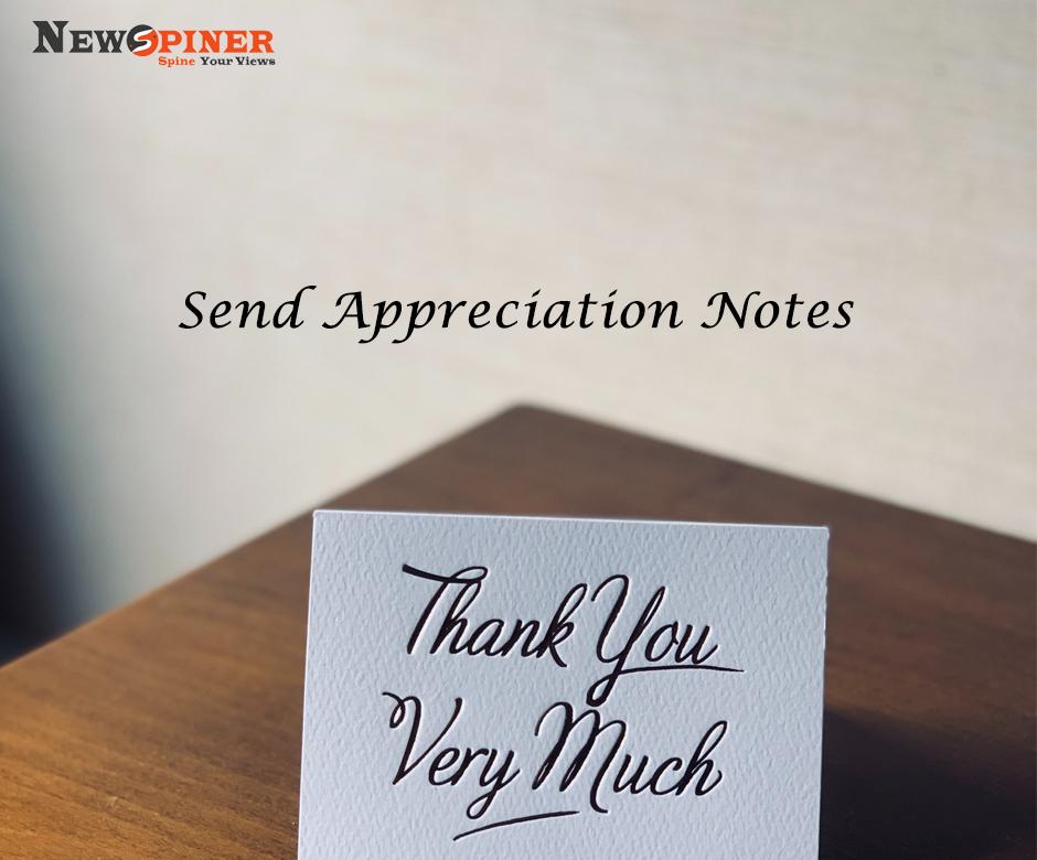 Send Appreciation Notes