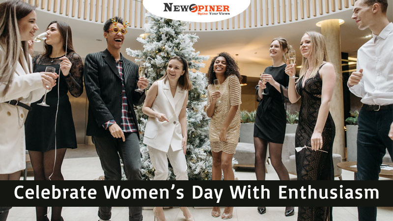 Celebrate Women's Day with enthusiasm - how to celebrate international women's day at work