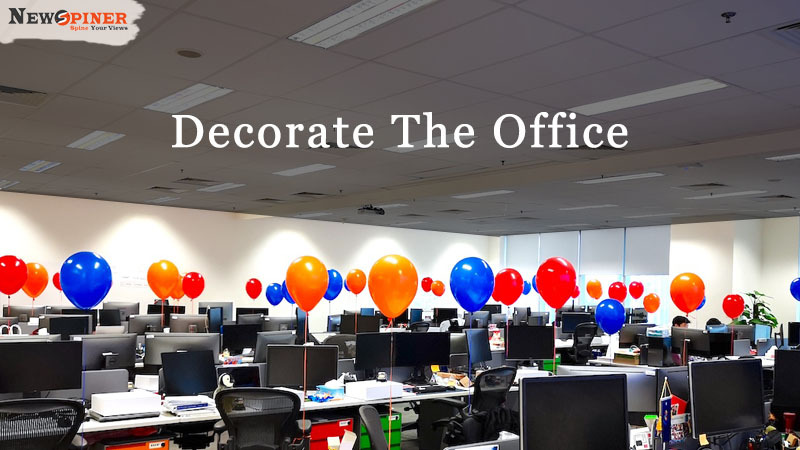 Decorate the office - how to celebrate international women's day at work