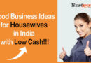 Good Business Ideas for housewives in India with low cash