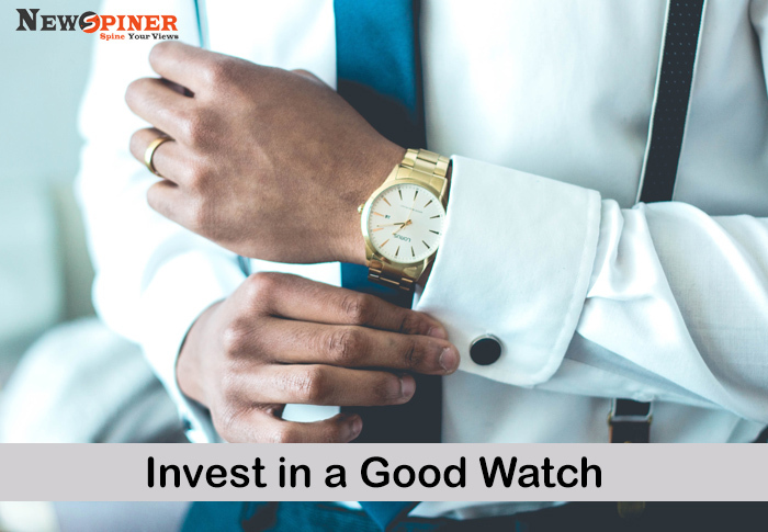 Invest in a good watch - How to improve dressing sense male