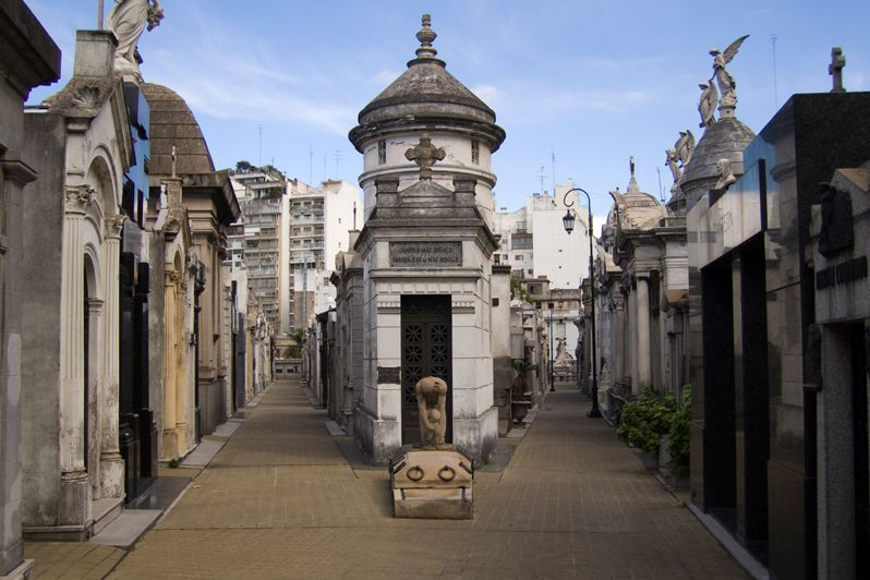 La Recoleta Cementary - most mysterious places in the world