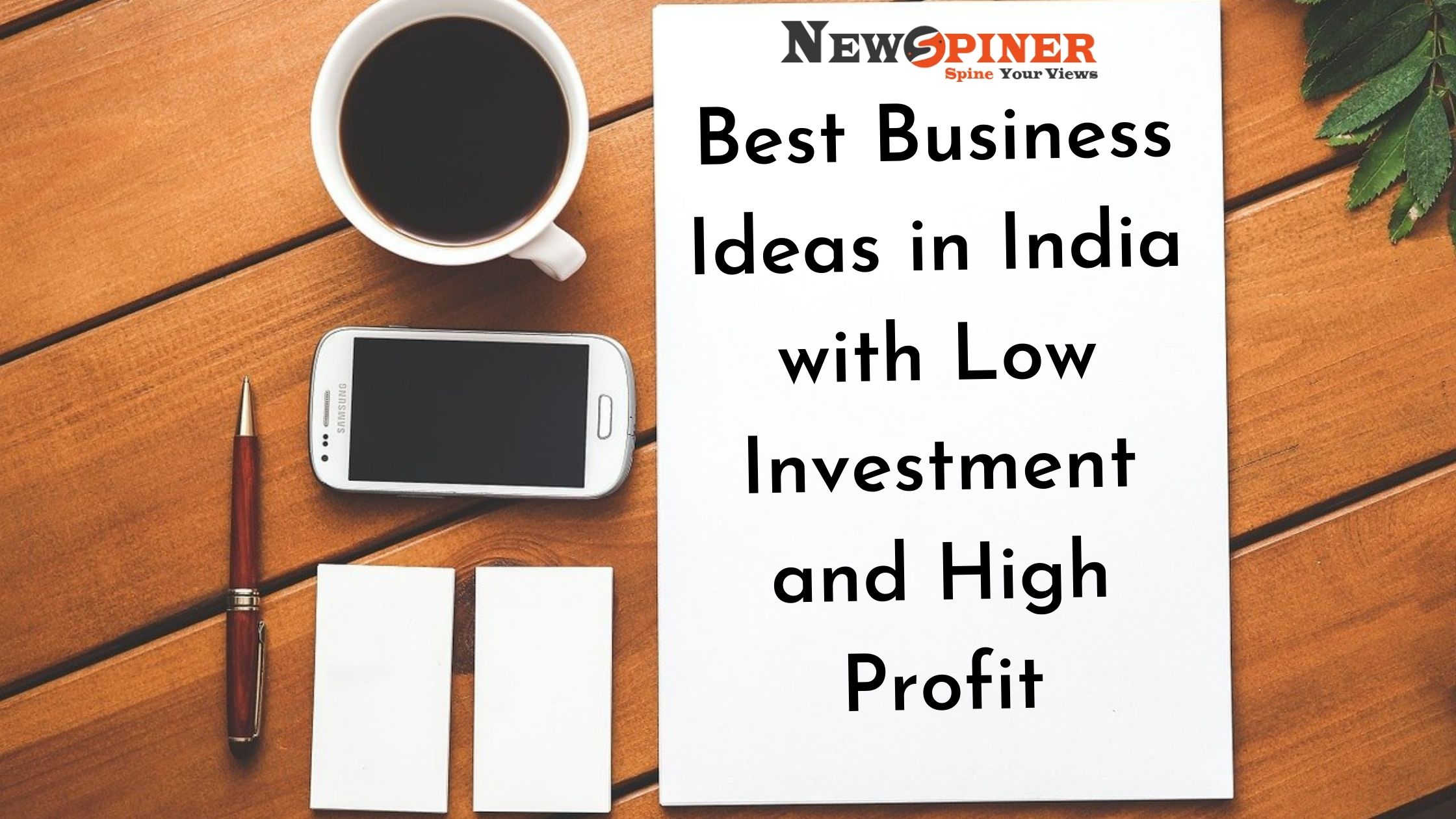 Best Business Ideas in India with Low Investment and High Profit