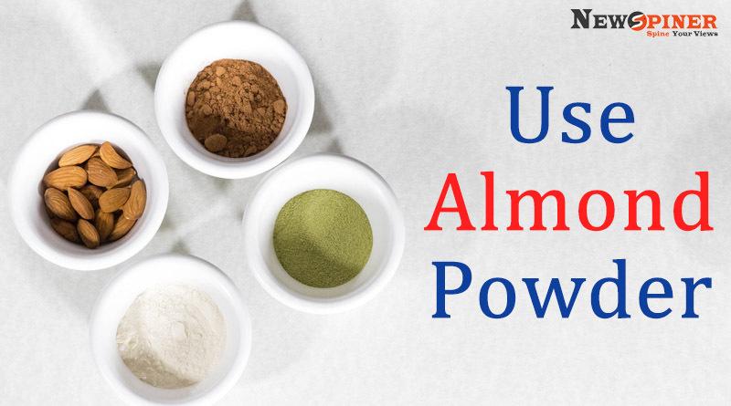 Use almond powder