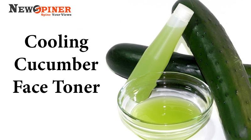 Cooling Cucumber Face Toner