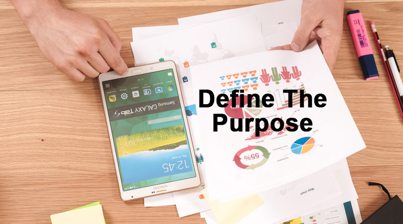 Define the purpose - How to create a cryptocurrency
