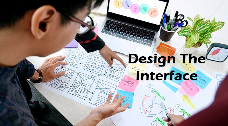 Design the interface - How to create a cryptocurrency