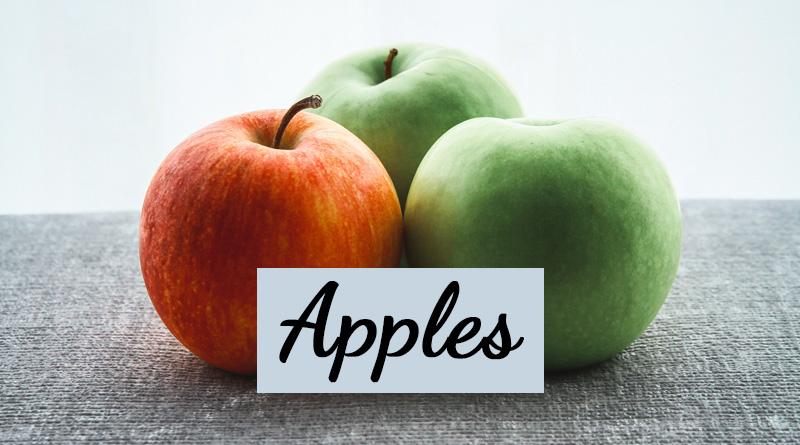 Apples - Rainy season fruits in india