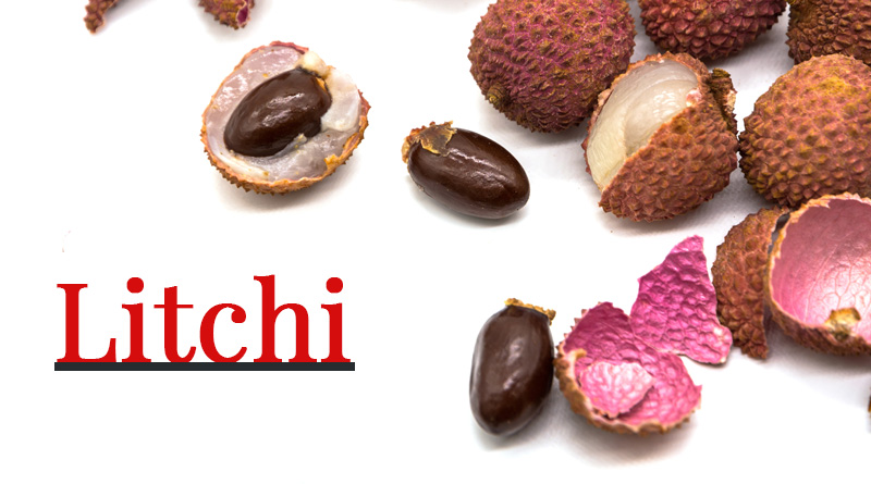 Litchi - Monsoon fruits and vegetables in india
