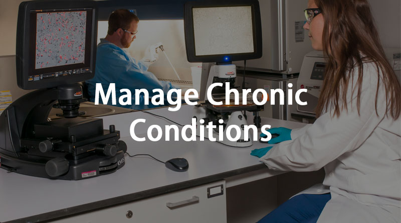 Manage chronic conditions