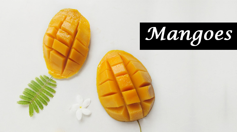 Mangoes - Monsoon fruits and vegetables in india