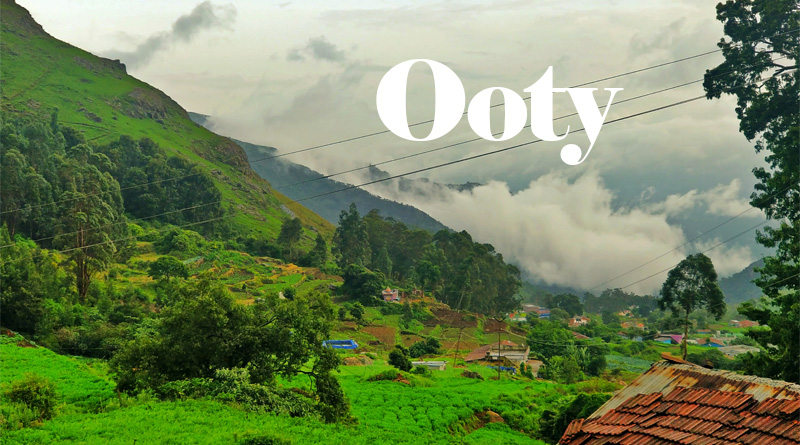 Ooty - Best Places to visit in South India