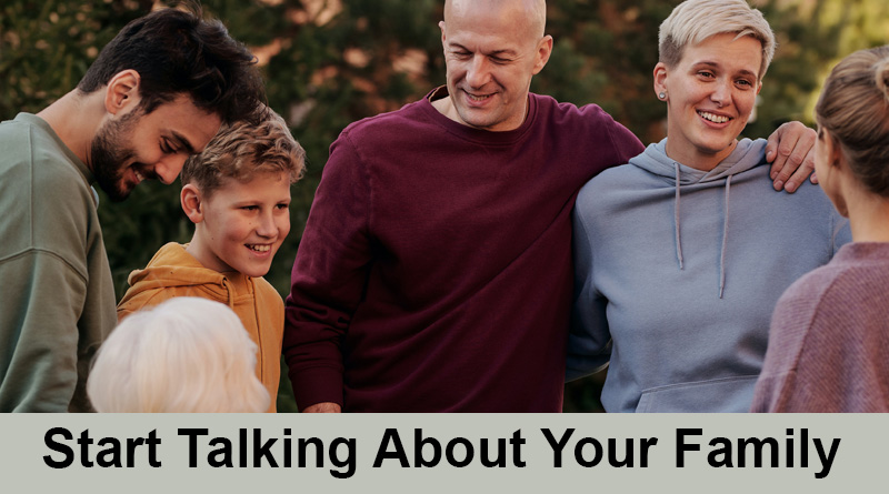 Start talking about your family - How to impress a girl on social media