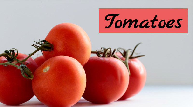 Tomatoes - monsoon fruits and vegetables in india