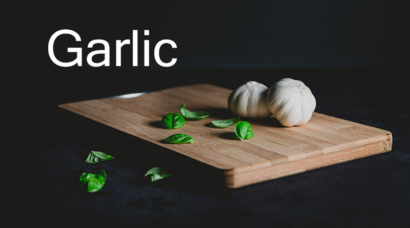Garlic - Home remedies for acne