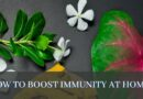 How to boost immunity at home