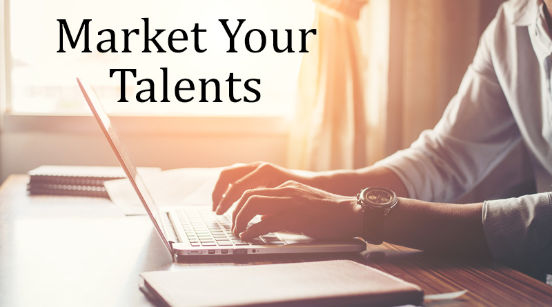 Market your talents - How to earn money from social media