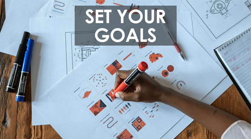 Set your goals - How to build self-confidence