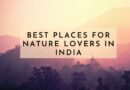 Best Places for Nature Lovers in India