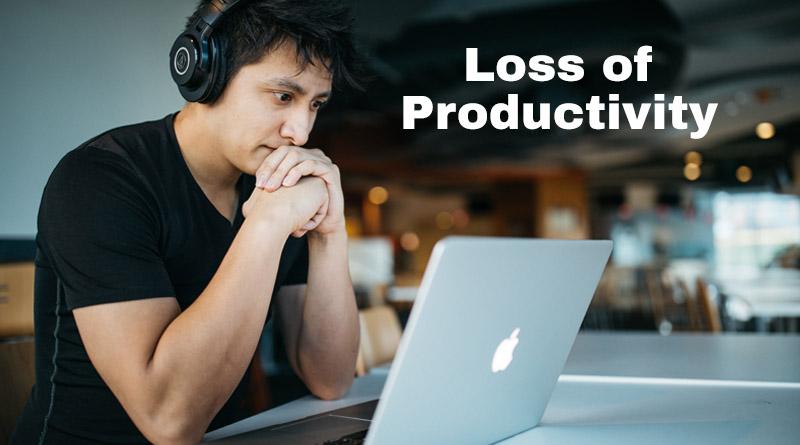 Loss of productivity