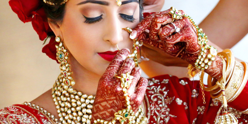 Top Beauty Parlour for bridal makeup near me in Noida