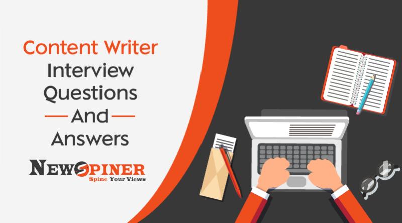 Content Writer Interview