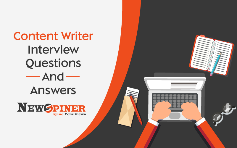 Content Writer Interview Questions And Answers For Freshers - PDF File Available