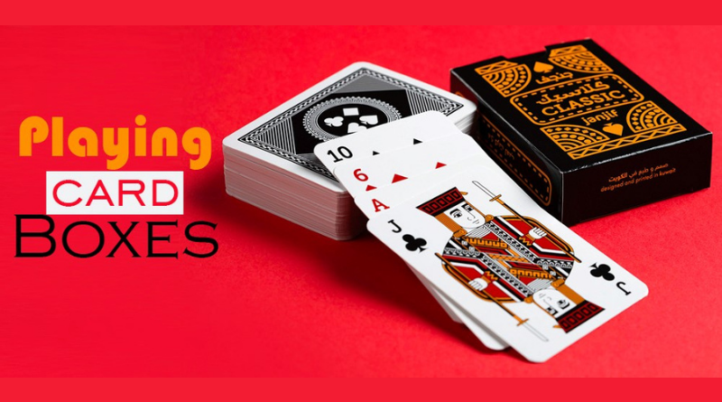 Custom Cardboard Tuck End Boxes: How They're Made for Playing Cards